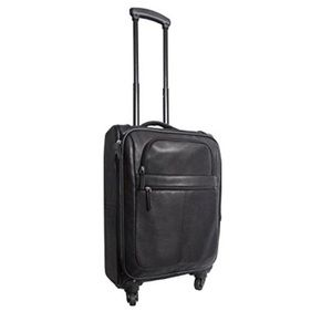 Canyon Outback Romeo Carry-on Leather Suitcase NWT